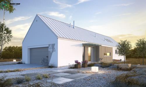 Типовой проект жилого дома 3-74