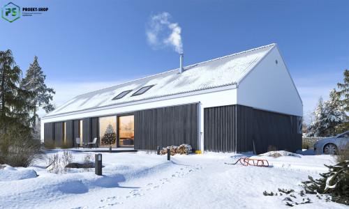 Типовой проект жилого дома 3-75