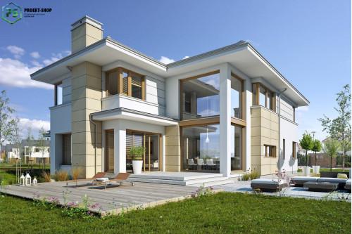 Типовой проект жилого дома 3-85