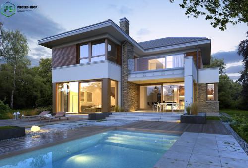 Типовой проект жилого дома 3-96