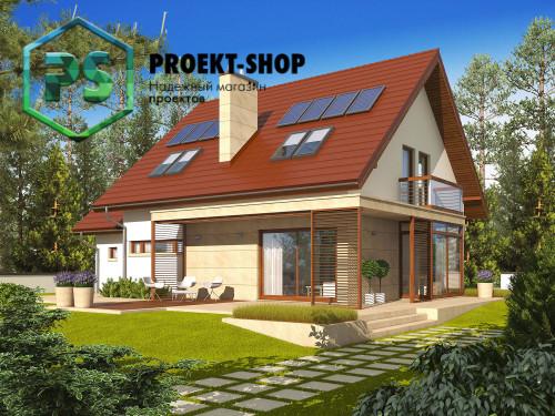 Типовой проект жилого дома 4-1013