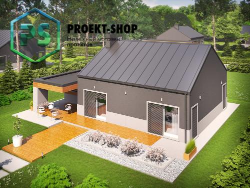 Типовой проект жилого дома 4-1020