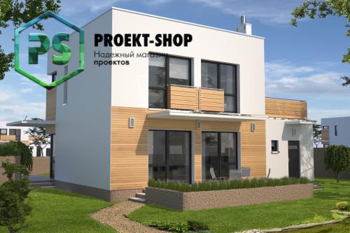 Типовой проект жилого дома 4-1021