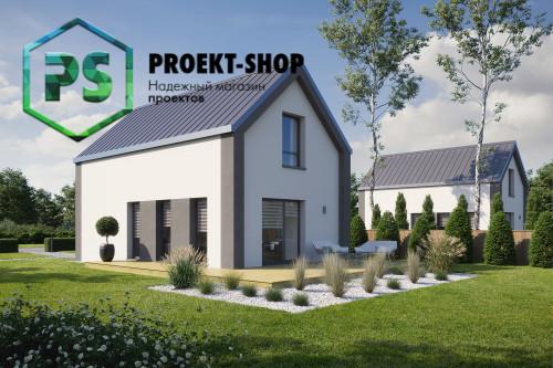 Типовой проект жилого дома 4-1036