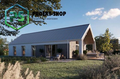 Типовой проект жилого дома 4-107
