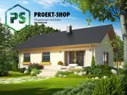 Типовой проект жилого дома 4-1092