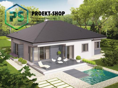 Типовой проект жилого дома 4-1094