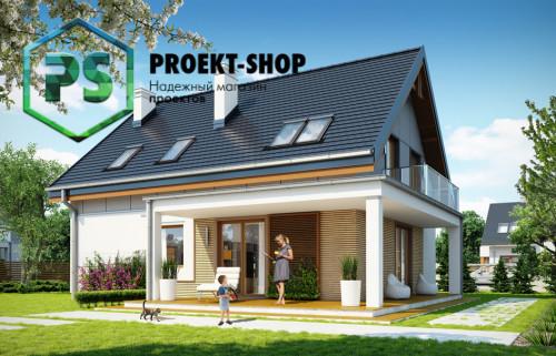 Типовой проект жилого дома 4-110