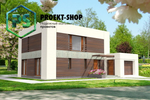 Типовой проект жилого дома 4-1104