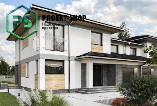 Типовой проект жилого дома 4-1475