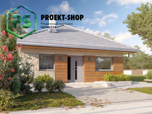 Типовой проект жилого дома 4-1483