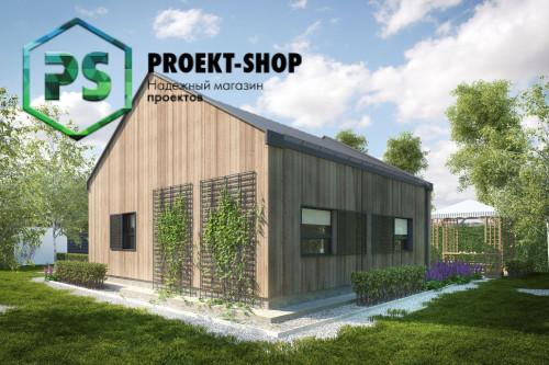 Типовой проект жилого дома 4-1492
