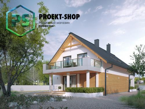 Типовой проект жилого дома 4-150