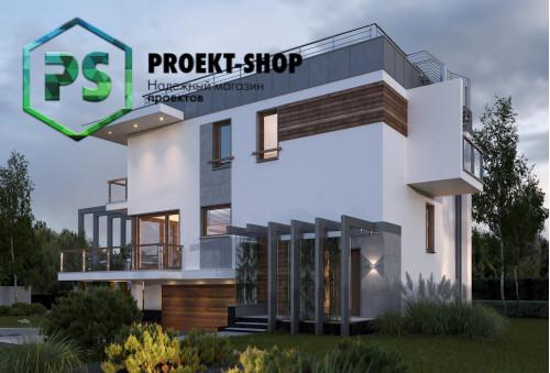Типовой проект жилого дома 4-1507