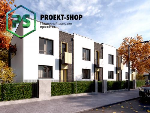 Типовой проект жилого дома 4-1517