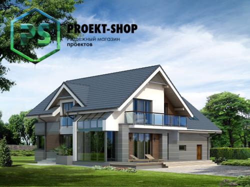 Типовой проект жилого дома 4-1523