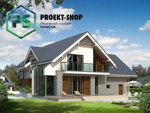 Типовой проект жилого дома 4-1526