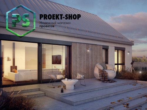 Типовой проект жилого дома 4-1534