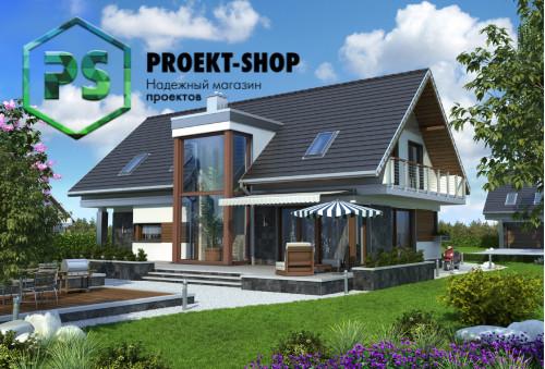 Типовой проект жилого дома 4-1626