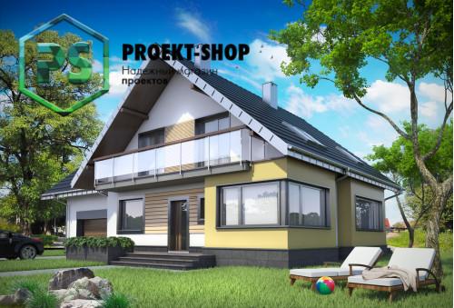 Типовой проект жилого дома 4-1637