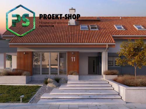 Типовой проект жилого дома 4-1643