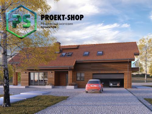 Типовой проект жилого дома 4-1644