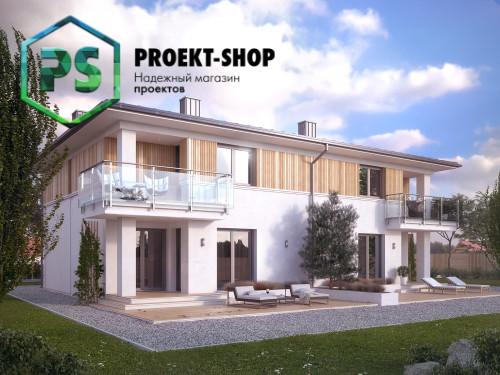 Типовой проект жилого дома 4-1645