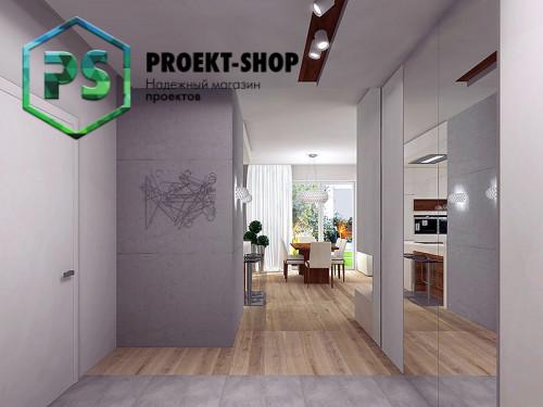 Типовой проект жилого дома 4-1656