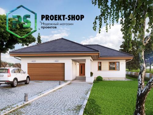 Типовой проект жилого дома 4-1671