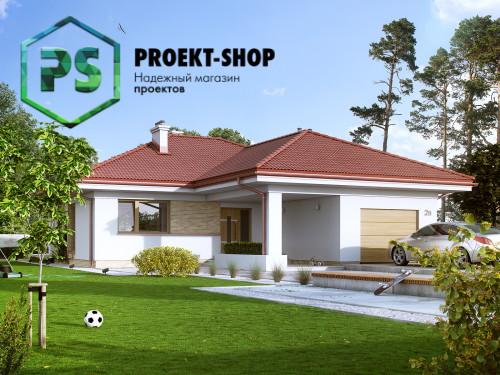 Типовой проект жилого дома 4-1672