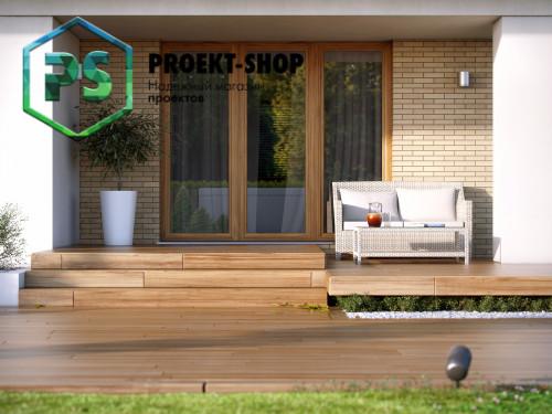 Типовой проект жилого дома 4-1673