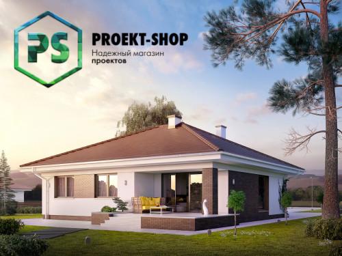 Типовой проект жилого дома 4-1674