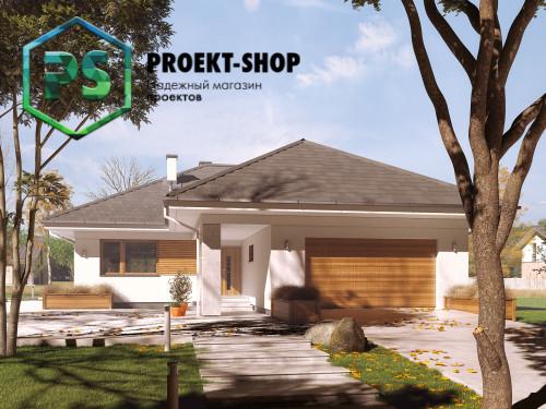 Типовой проект жилого дома 4-1675