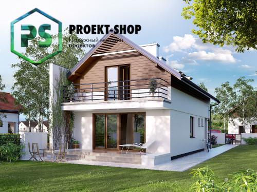 Типовой проект жилого дома 4-1686