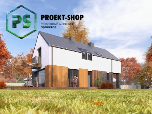 Типовой проект жилого дома 4-1687
