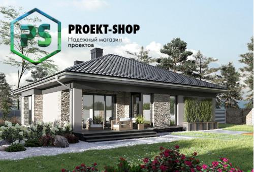 Типовой проект жилого дома 4-1695
