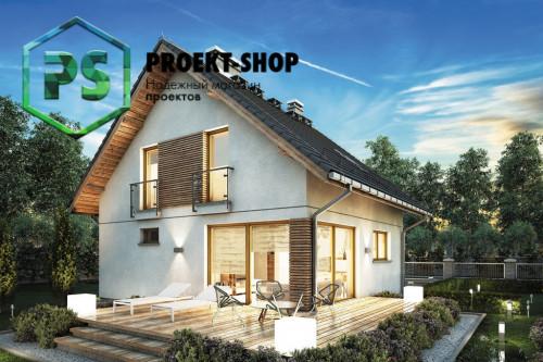 Типовой проект жилого дома 4-1698