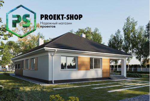 Типовой проект жилого дома 4-1704