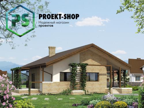 Типовой проект жилого дома 4-1736