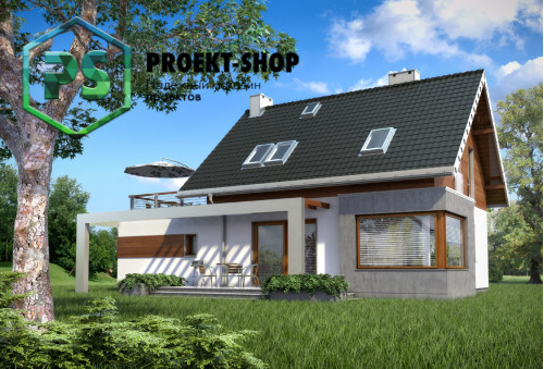 Типовой проект жилого дома 4-1737