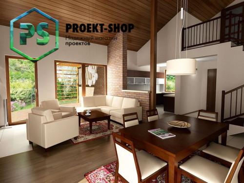 Типовой проект жилого дома 4-1739