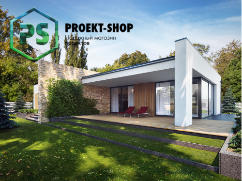 Типовой проект жилого дома 4-1745