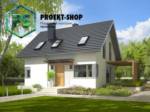 Типовой проект жилого дома 4-1755