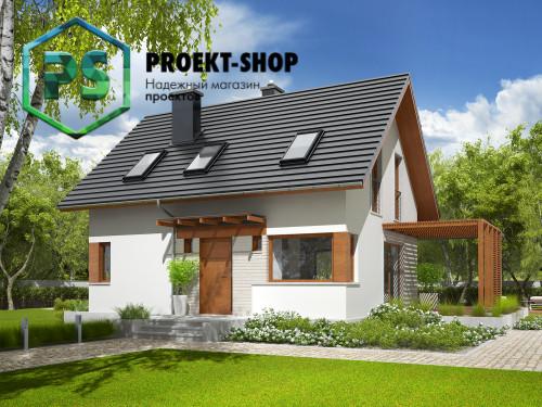 Типовой проект жилого дома 4-1756