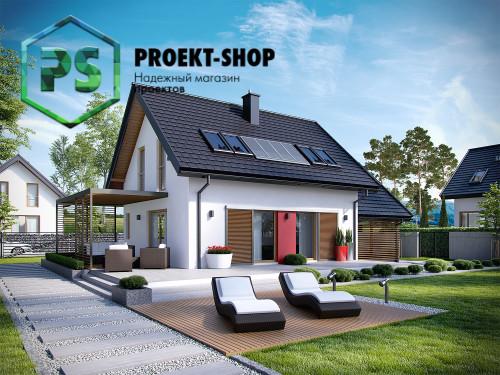 Типовой проект жилого дома 4-1757