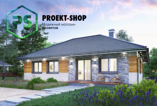 Типовой проект жилого дома 4-1762