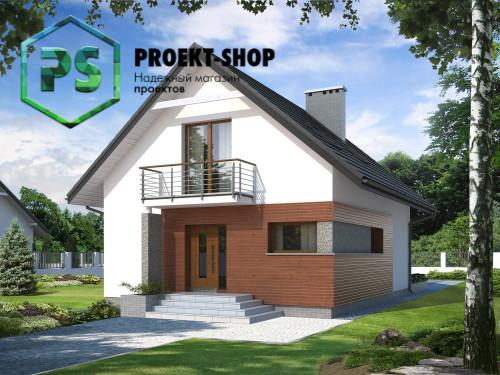 Типовой проект жилого дома 4-1780