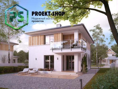 Типовой проект жилого дома 4-1781