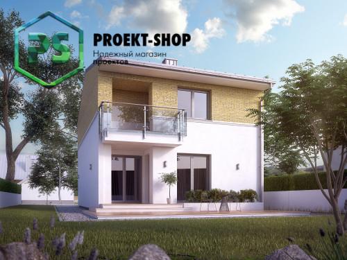 Типовой проект жилого дома 4-1782