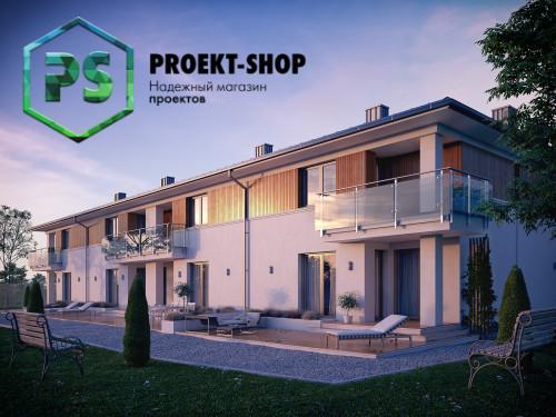 Типовой проект жилого дома 4-1783